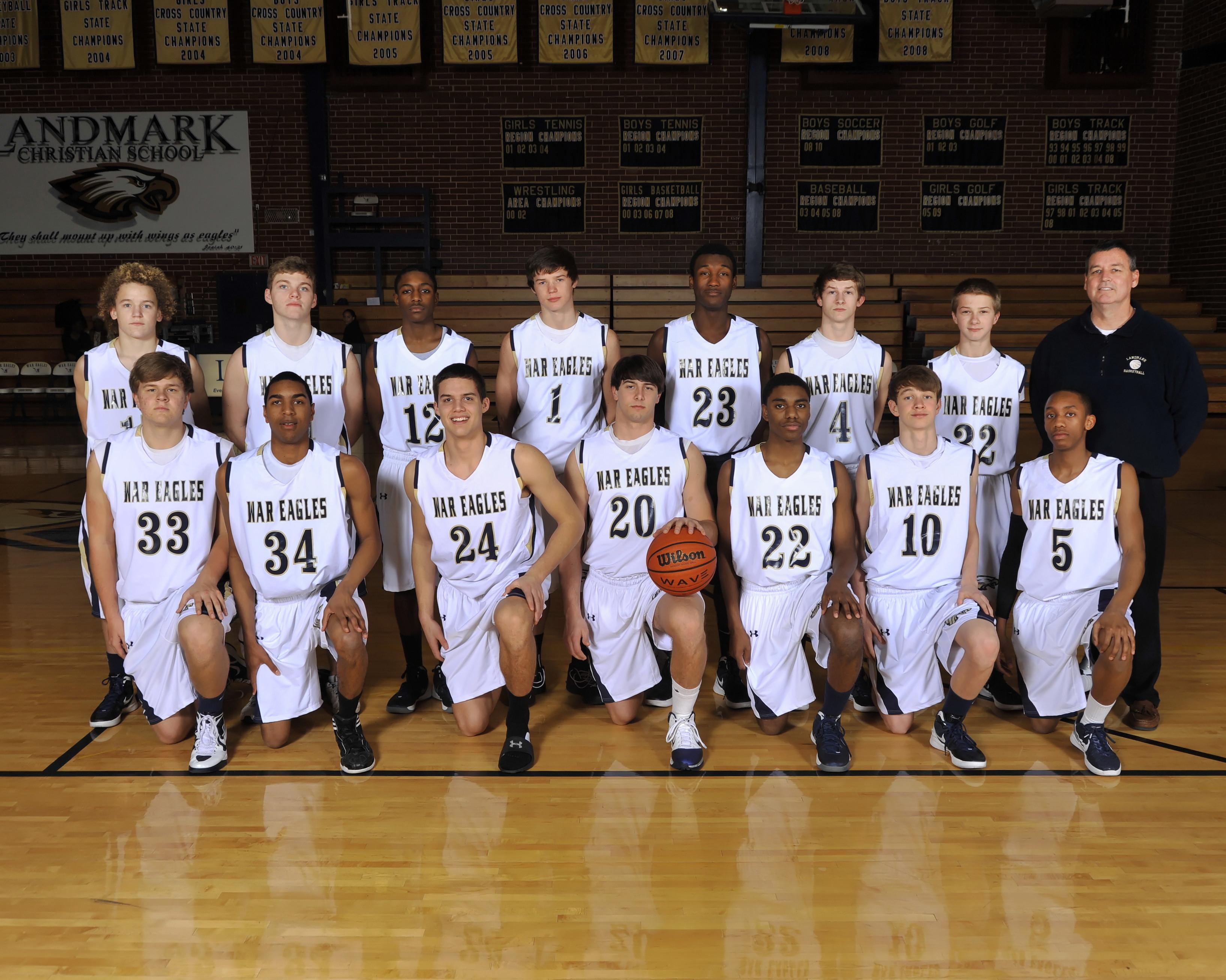 John Holleman Basketball V Bb Team